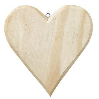 Holz-Herz ca. 16 x 15 cm