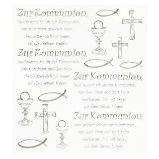 HOBBY-Design Sticker Zur Kommunion
