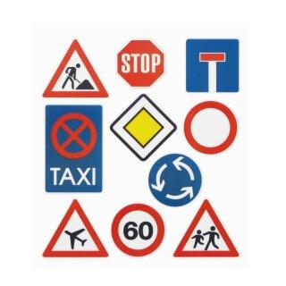 HOBBY-Design Sticker Verkehrsschilder