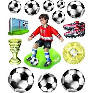 3D Sticker XXL Fußball