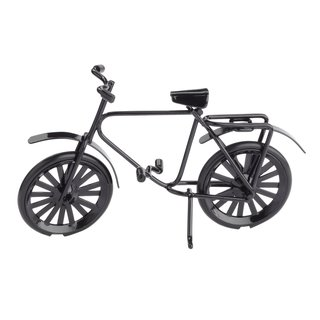 Miniatur-Fahrrad schwarz, ca. 9,5 x 6 cm