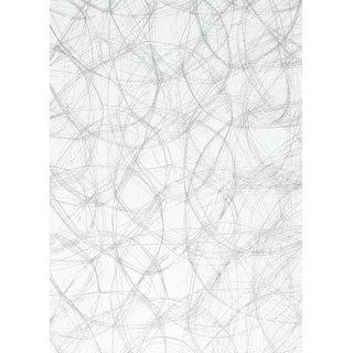 CREAweb 30 cm x 25 m, silber