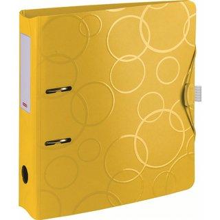 Ordner PP 7cm gelb
