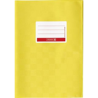 Hefthülle A4 gelb Folie mitSchild
