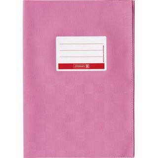 Hefthülle A4 rosa Folie mitSchild