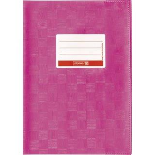 Hefthülle A4 pink Folie mitSchild