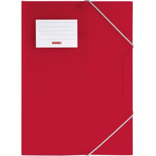 Sammelmappe A4 PP Red