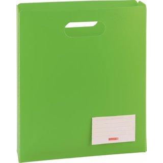 Heftbox A4 offen grü