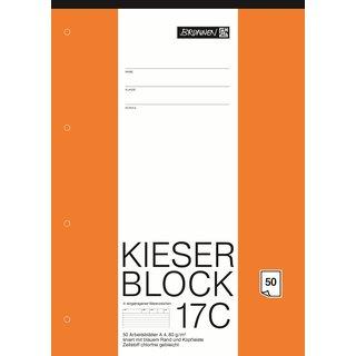 Block A4 Kieserblock liniert 50Bl