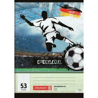 Vokabelheft A5 Fußball