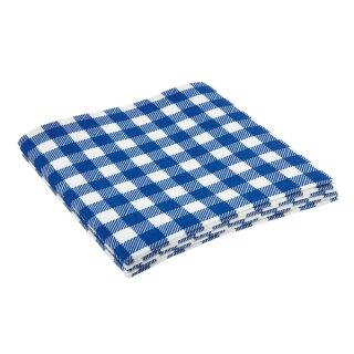 3er Spültuch 35x35cm weiß/blau