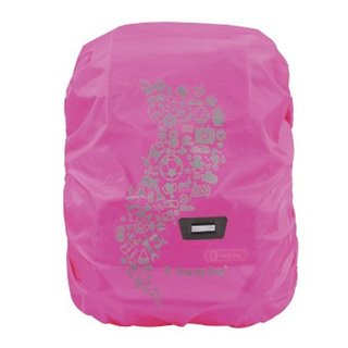 Regen-&Sicherheitshülle medium,pink