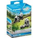 2 Pandas mit Baby (43736540)