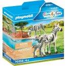 2 Zebras mit Baby (43737121)