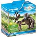 Gorilla mit Babys