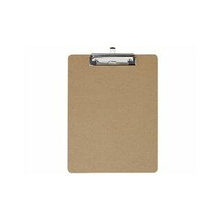 Schreibplatte A4hoch aus Hartfaser-Holz