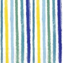 COLOURFUL STRIPES blue yellow
