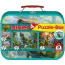 Dinos, Puzzle-Box, 2x60, 2x100 Teile