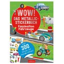 Wow! Das Metallic-Stickerbuch - Faszinat