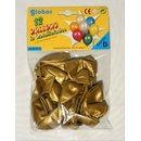 10 metallicfarbene Ballons